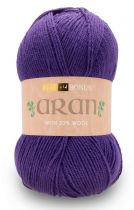 Hayfield Bonus Aran with Wool 400g - 627 Purple